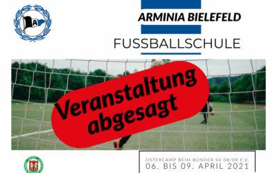 Fussballschule abgesagt